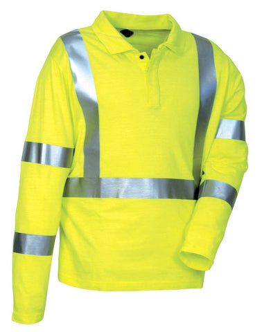 Cofra Arica High Visibility, Flame Retardant Polo Shirt 210g