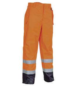Cofra Pecs Hi Visibility, Flame Retardant Overtrousers 250g