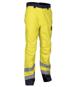 Cofra Quito Hi Visibility, Flame Retardant Trousers 300g