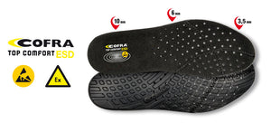 Top Comfort ESD insoles