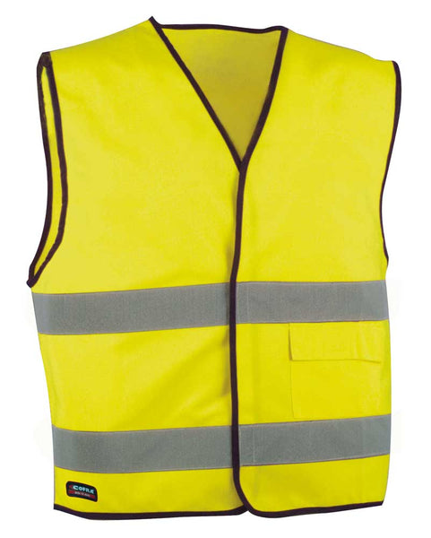 Cofra New Driver, 5 Pieces, Hi Visibility Waistcoat 120g