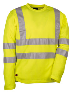 Cofra New Skittle Hi Visibility Winter T-Shirt 220g