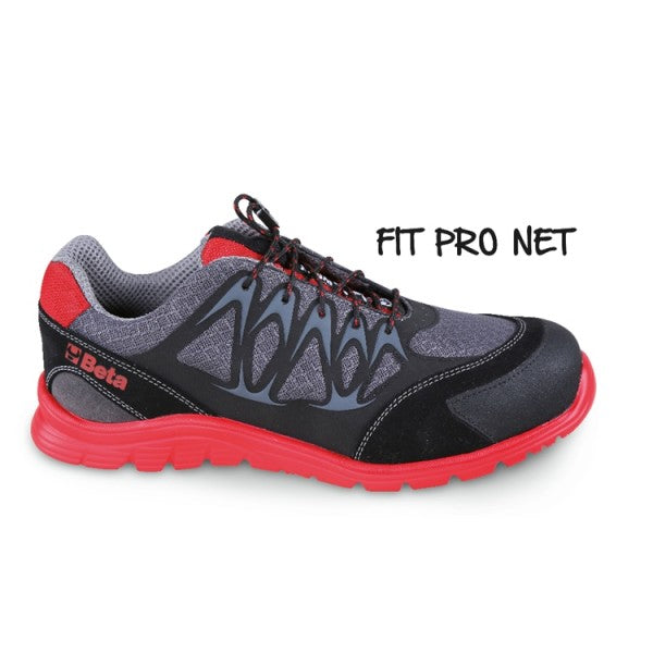 Beta 7340R Mesh Fabric Trainers