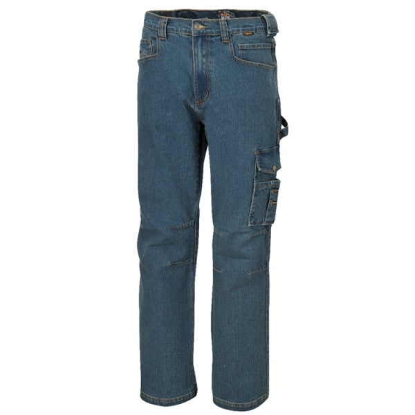 Beta 7525 Prewashed Stretch Work Jeans