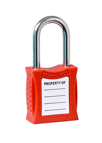 Lockout Tagout Safety Padlock (Red) PL201-Red