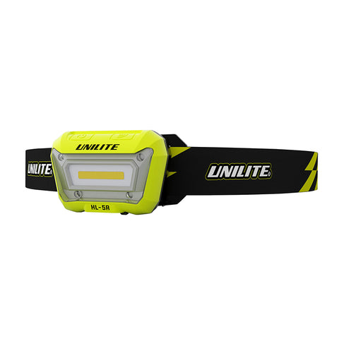 UniLite HL-5R Rechargeable Sensor LED Head Torch 325 Lumens