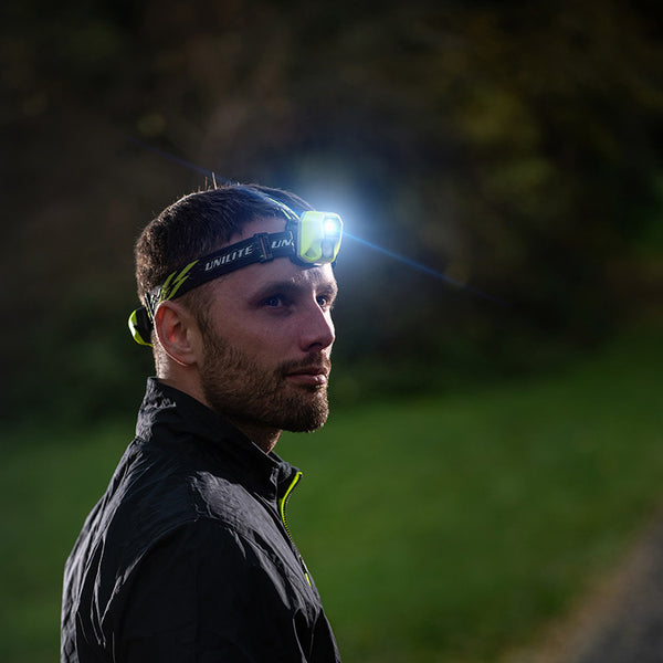 UniLite HL-6R Rechargeable LED Head Torch 450 Lumens