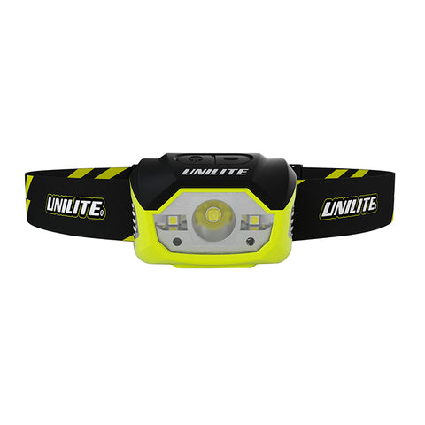 UniLite HL-7R Rechargeable Sensor LED Head Torch 475 Lumens