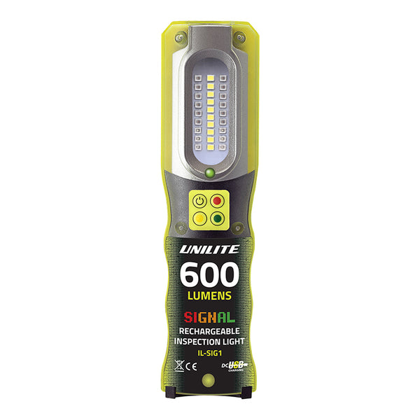 UniLite IL-SIG1 Signal Rechargeable LED Inspection Light 600 Lumens