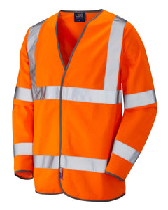 SHIRWELL ISO 20471 Class 3 Sleeved Waistcoat Orange