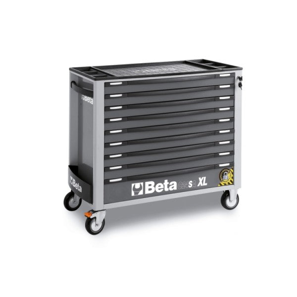 Beta Tool boxes C24SA-XL/9 Mobile roller cab with nine drawers, with anti-tilt system, long model