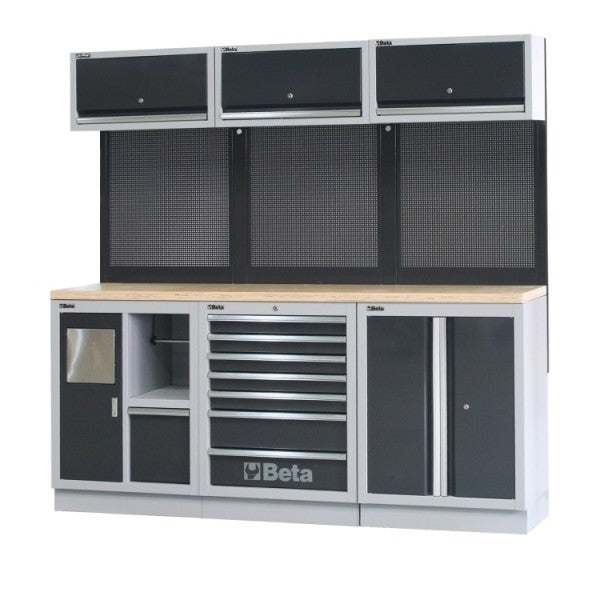 Beta C45/AW Workbenches for workshop equipment combination