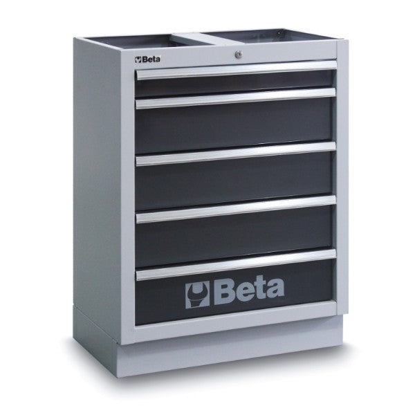 Beta C45/M5 Fixed module with 5 drawers