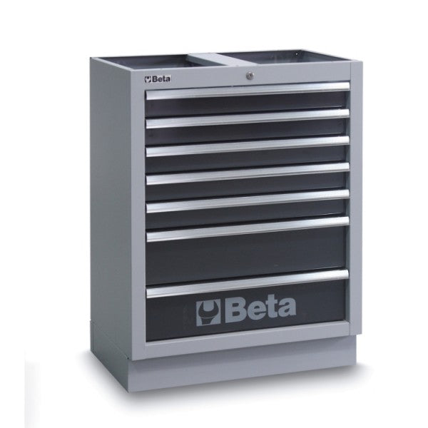 Beta C45/M7 Fixed module with 7 drawers