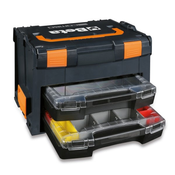 Beta C99 V3/2C COMBO ABS tool case with 2 portable tote trays
