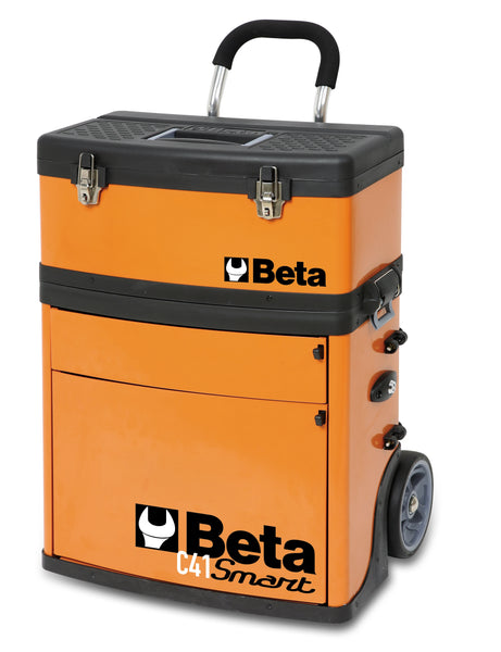 Beta Tool boxes C41S two-module tool trolley