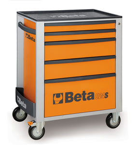 Beta Tool boxes C24S/5 Mobile roller cab with five drawers