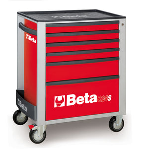 Beta Tool boxes C24S/6 Mobile roller cab with six drawers