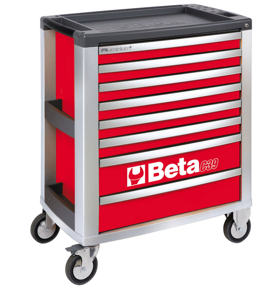 Beta Tool boxes C39/8 Mobile roller cab with eight drawers