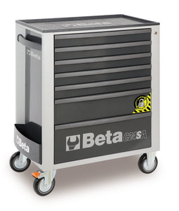 Beta Tool Boxes S24SA/7 Mobile roller cab with 7 drawers, with anti-tilt system