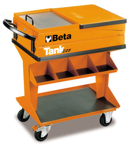 Beta Tool boxes C25 Tank trolley with shelf
