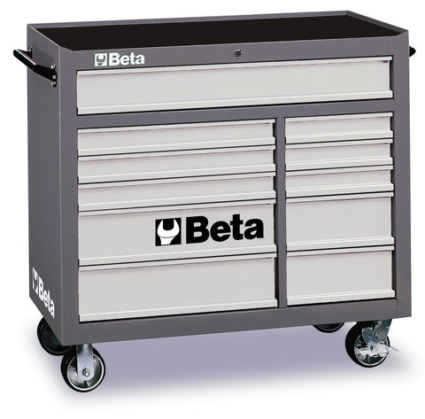 Beta Tool boxes C38-3800 mobile roller cab with eleven drawers