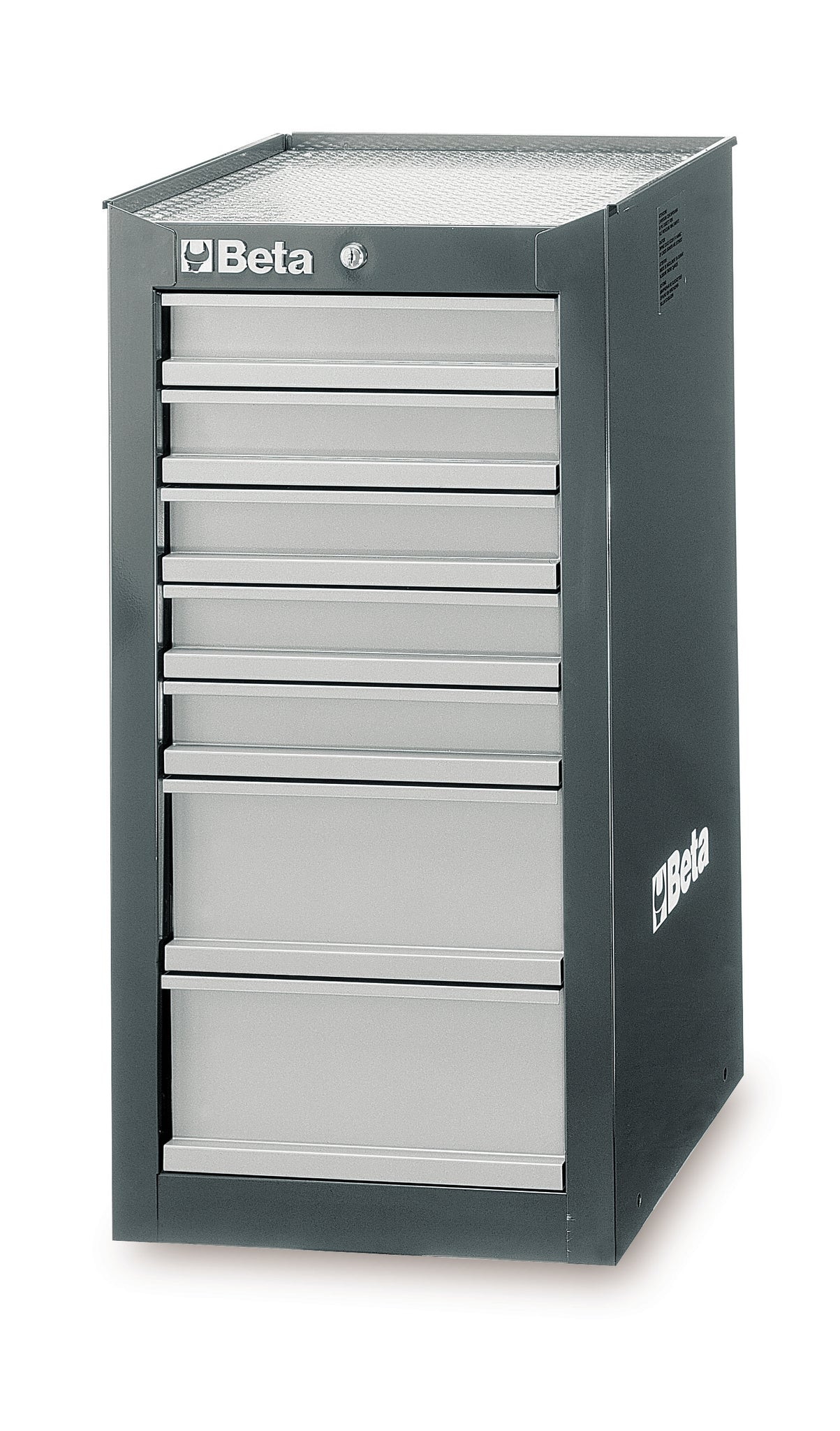 Beta Tool boxes C38L side cab with seven drawers