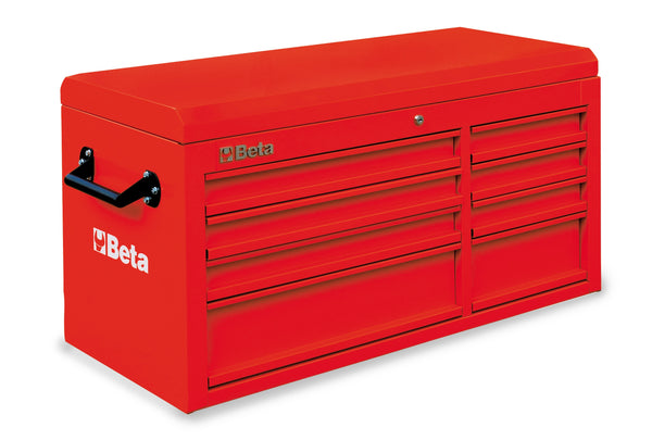Beta Tool boxes C38T cab with eight drawers and top chest