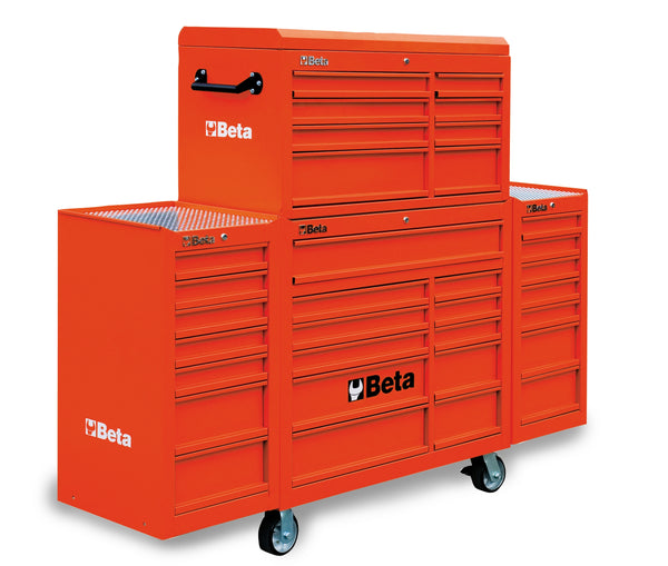 Beta Tool boxes C38C mobile roller cab with thirty three drawers,