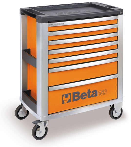 Beta Tool boxes C39/7 roller cab with seven drawers