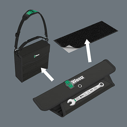Wera 020231 JOKER 11 Set 1 6003 11 Piece Metric Ring Combination Spanner Set 8-19mm