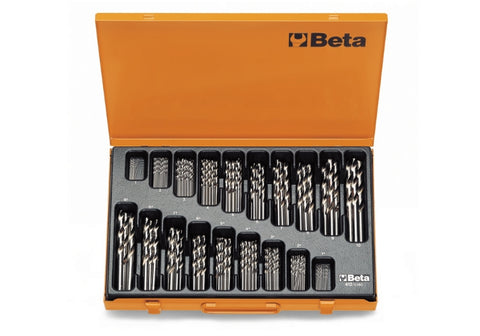 Beta Tools 412/C150 set of twist drills with cylindrical shanks 150pcs