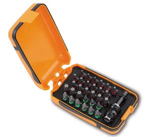 Beta Tools 860PHT/A31 set of 30 bits with magnetic quick release bit holder in plastic case