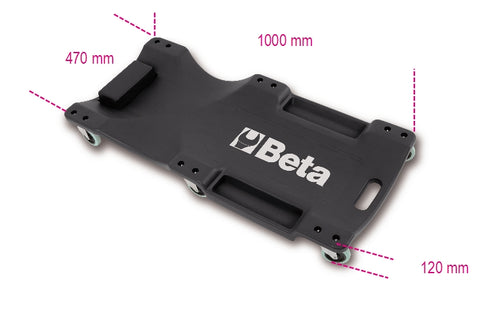 Beta Tools 3003 Creeper made of shockproof plastic