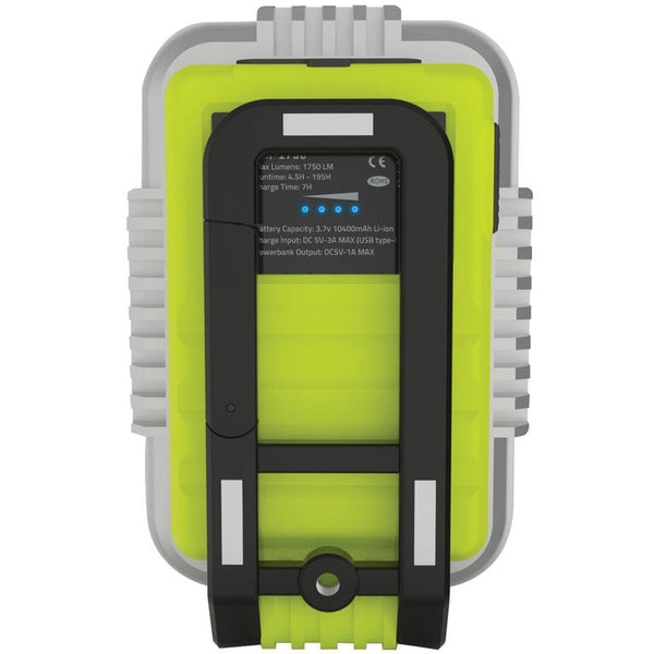 Unilite SLR-1750 USB Rechargeable LED Inspection Light With Powerbank 1750 Lumens
