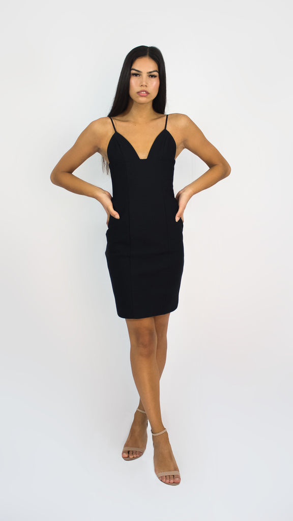 2d832aba4a Evening Panelled Mini Dress