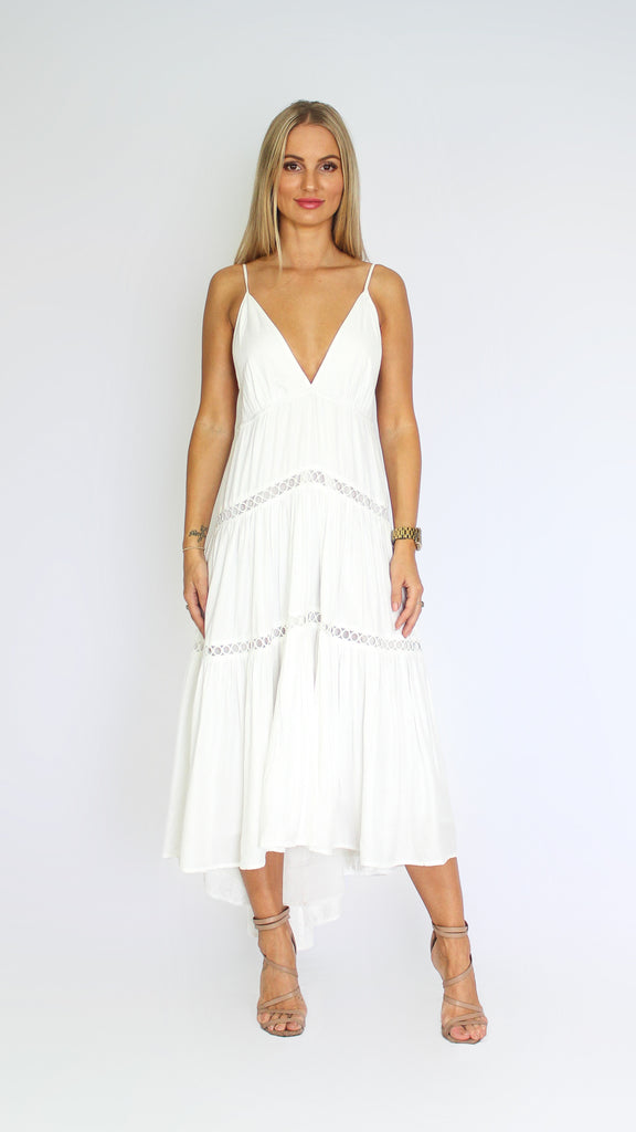 Republic Dress in Ivory