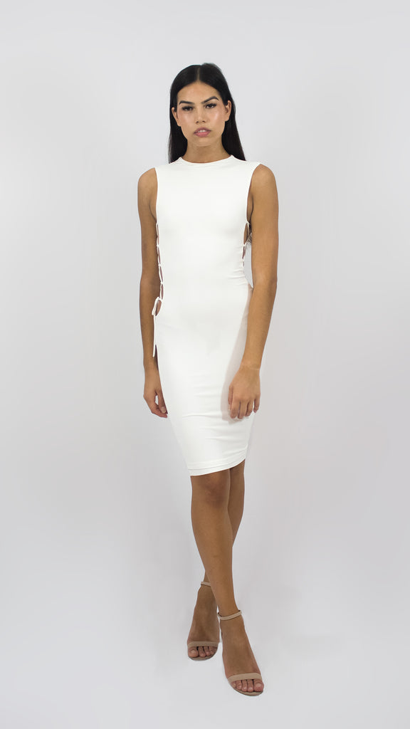 Side Strapped Midi