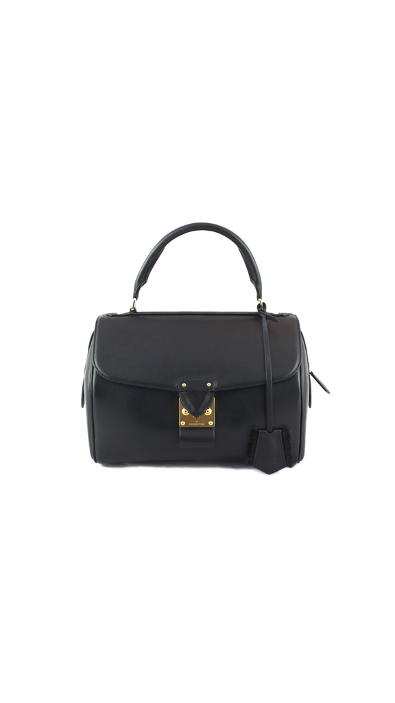 Mink Speedy Couture PM Noir Handbag