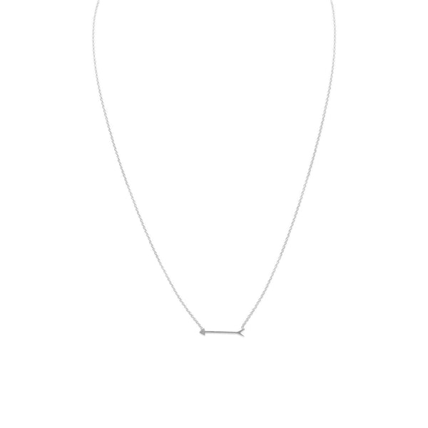 "16"" + 2"" Arrow Design Necklace - LazerPoints.com"