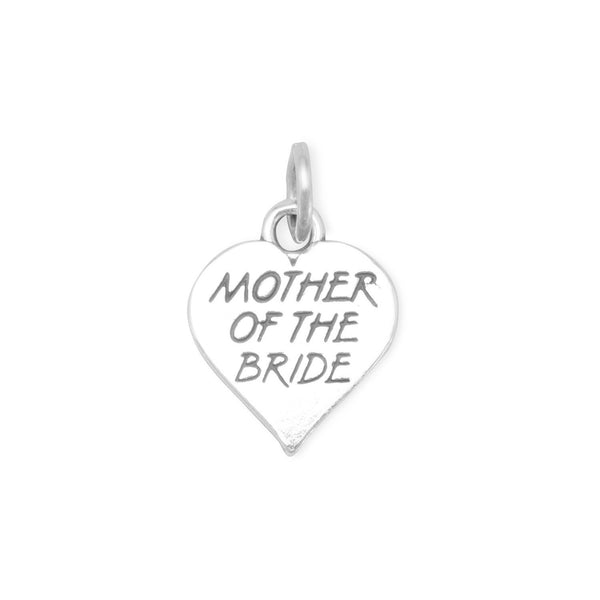 Oxidized Mother of the Bride Charm - LazerPoints.com