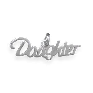 Daughter Charm - LazerPoints.com