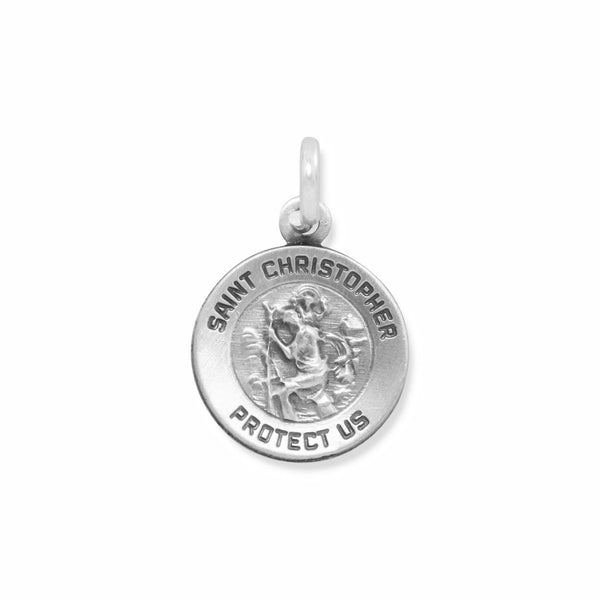 Small St. Christopher Charm - LazerPoints.com