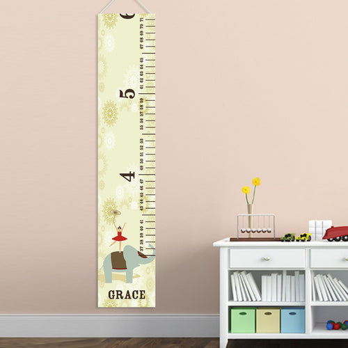 Kids Height Chart - Circus Princess - LazerPoints.com