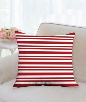 Red Stripe Pillow - LazerPoints.com