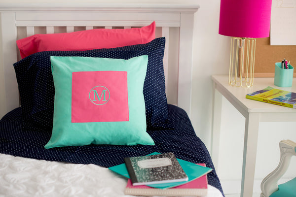 Mint Pillow Cover - LazerPoints.com