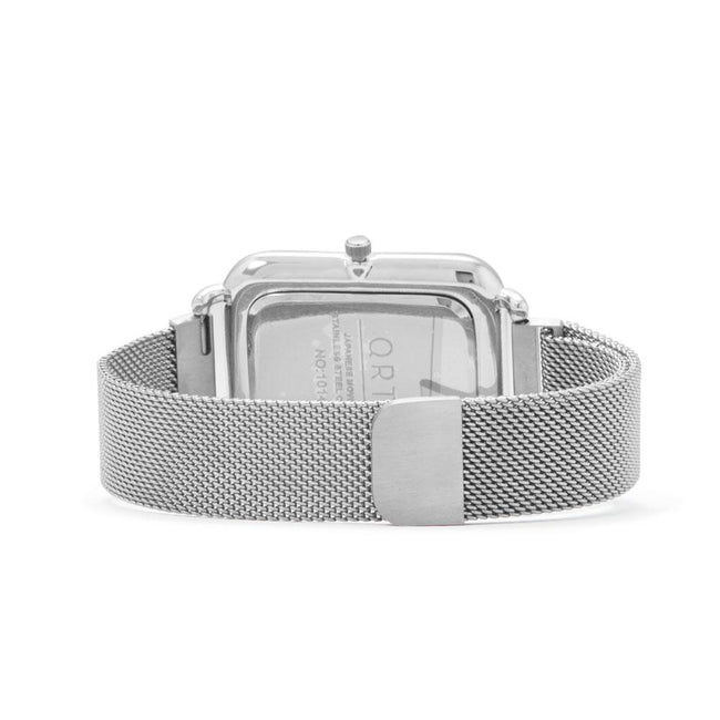 Silver Tone Magnetic Fashion Watch - LazerPoints.com