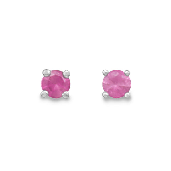 July Birthstone Stud Earrings - LazerPoints.com