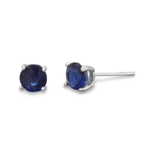 September Birthstone Stud Earrings - LazerPoints.com