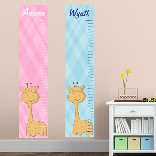 Kids Height Chart - Growing Giraffe - LazerPoints.com